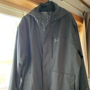 Men's Under Armour 2-in-1 (parka) jacket with hood